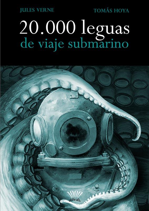 20.000 leguas de viaje submarino, portada