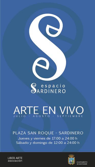 Espacio sardinero es una nueva propuesta artística en Santander con artistas trabajando en la calle Esther Lorenzo, Juan Manuel Caprara y Tomás Hoya Cicero