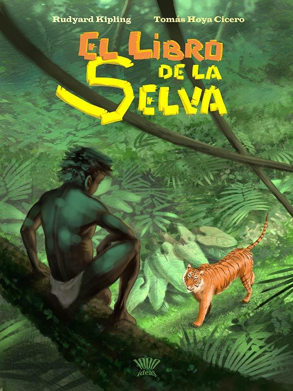 EL Libro de la selva juvenil, portada