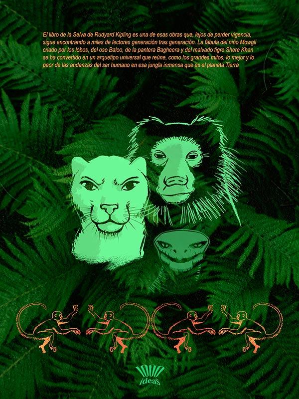 El libro de la selva juvenil, contraportada