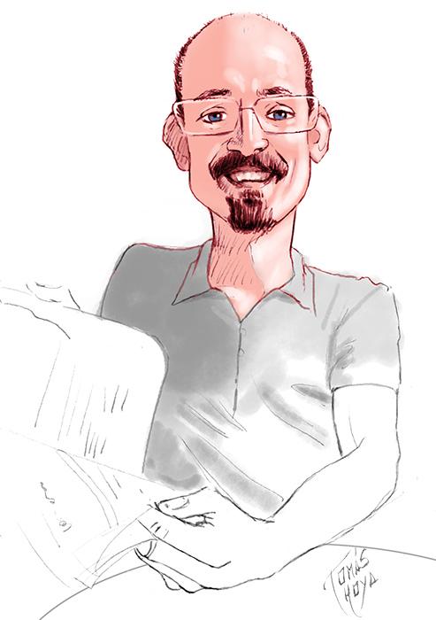 """Imagen que ilustra la sección """"Información del autor de la web de Tomás Hoya cicero"""