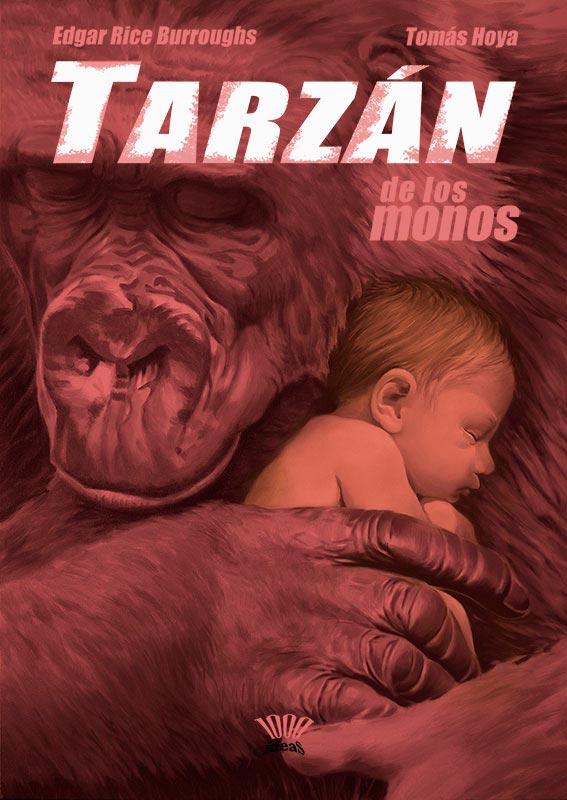 Portada para la novela tarzán de los monos
